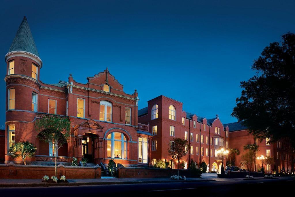 Savannah Mansion on Forsyth Park